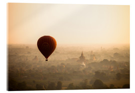 Harry Marx - Aerial view of the balloon over the ancient temples in Myanmar