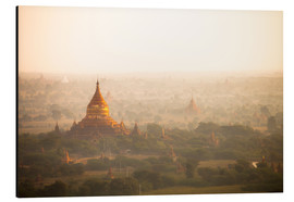 Aluminium print  Aerial view of the ancient temples in Myanmar - Harry Marx