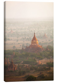 Canvas  Aerial view of the ancient temples in Myanmar - Harry Marx