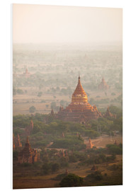 Harry Marx - Aerial view of the ancient temples in Myanmar