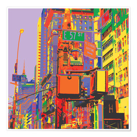 Jaysanstudio - Pop Art New York City