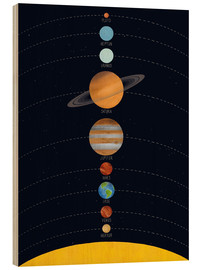 Wood  Our solar system - coico