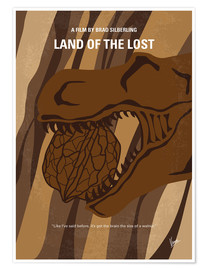 Premium poster No773 My Land of the Lost minimal movie poster