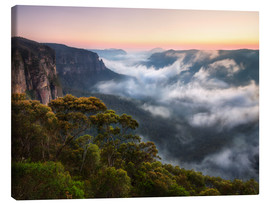 Canvas print  Misty Mountains - Michael Breitung