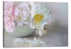 Canvas  Dreamy Peonies - Lizzy Pe