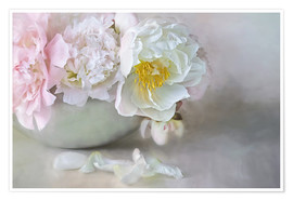 Poster  Dreamy Peonies - Lizzy Pe