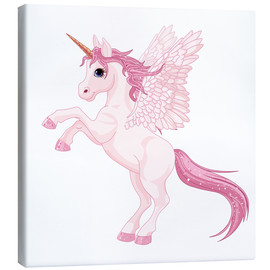 Canvas print  My Unicorn - Kidz Collection