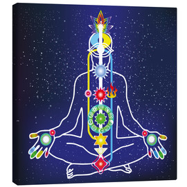 Canvas print  colorful chakras