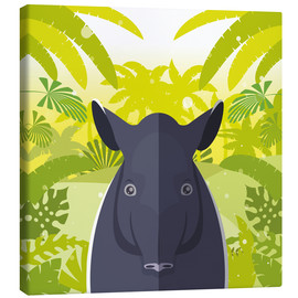 Canvas print  Habitat of the Tapir - Kidz Collection