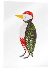 Acrylic glass  Little woodpecker - Kidz Collection
