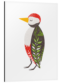 Alu-Dibond  Little woodpecker - Kidz Collection