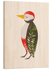 Wood  Little woodpecker - Kidz Collection