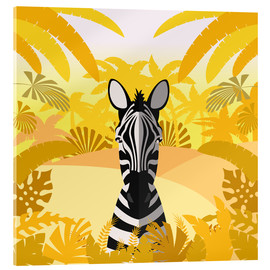 Acrylic glass  Habitat of the zebra - Kidz Collection