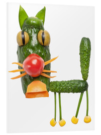 Forex  Vegetable animals - cat