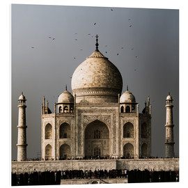 Foam board print  The Taj Mahal - Sebastian Rost