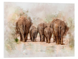 Forex  Elephants in the savannah in Africa - Peter Roder