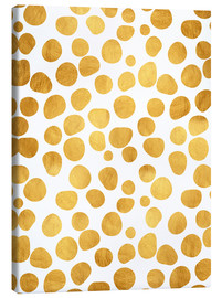 Canvas print  Gold spots - Uma 83 Oranges