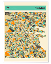Jazzberry Blue - DUBLIN MAP