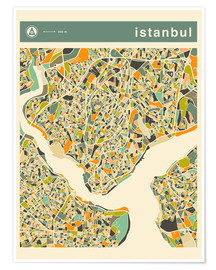 Jazzberry Blue - Istanbul Map