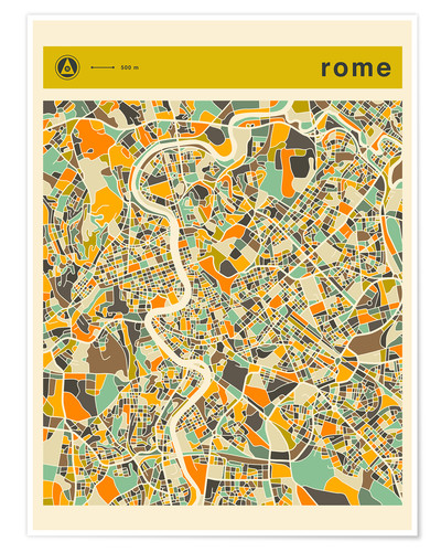 Poster ROME MAP