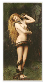 Premium poster  Lilith - John Collier