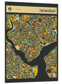 Forex  ISTANBUL MAP - Jazzberry Blue