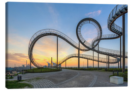 Canvas print  Tiger and Turtle Duisburg - Michael Valjak