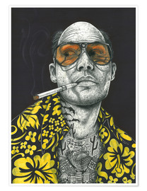 Poster  Fear and Loathing - Inked Ikons