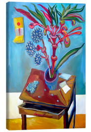 Canvas print  Table and plant - Diego Manuel Rodriguez