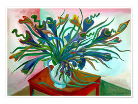 Poster The carnivorous plant