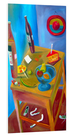 Foam board print  Cheese and fruits - Diego Manuel Rodriguez