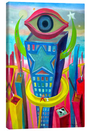 Canvas print  The eye of the city - Diego Manuel Rodriguez