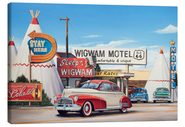 Canvas  Route 66 Wigwam Motel - Georg Huber