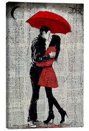 Canvas  rain kisses - Loui Jover