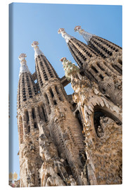 Canvas  La Sagrada Familia - George Pachantouris