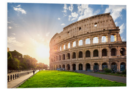 Foam board print  The Colosseum in Rome, Italy - Jan Christopher Becke