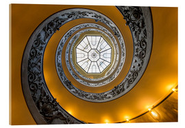 Acrylic glass  Spiral staircase in the Vatican Museum, Italy - Jan Christopher Becke