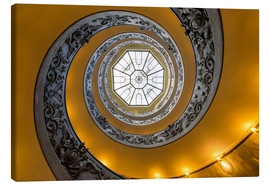 Canvas print  Spiral staircase in the Vatican Museum, Italy - Jan Christopher Becke