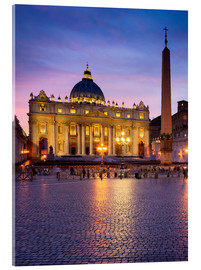 Jan Christopher Becke - St. Peter's and St. Peter's Square in Rome, Italy