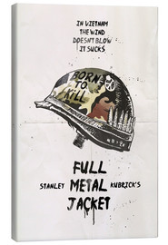 Canvas  Full Metal Jacket - 2ToastDesign