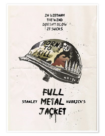 Poster alternative full metal jacket fan art print