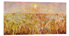 Acrylic glass  Cornfield Collage - David McConochie