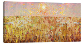 Canvas print  Cornfield Collage - David McConochie