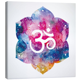 Canvas print  Namaste watercolors