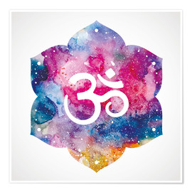 Poster  Namaste watercolors