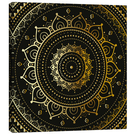 Canvas print  Golden mandala