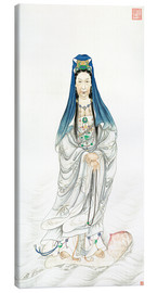 Canvas print  Empress Dowager Cixi as Guanyin - Chinese School