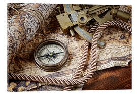 Acrylic print  Seafaring equipment