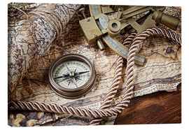 Canvas print  Seafaring equipment