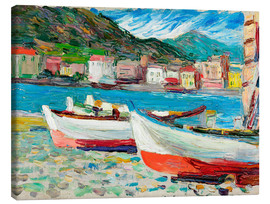 Canvas  Rapallo, Boats - Wassily Kandinsky